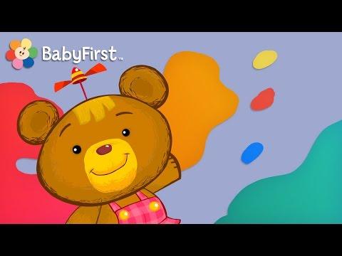 Couleur et Art par BabyFirst | Bonnie l'oursonne et plus de vidéos pédagogiques pour enfants