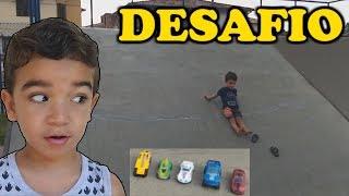 Desafios | Carrinhos Hot Wheels | Desafio | pista hot wheels | rampa hot wheels | desenho