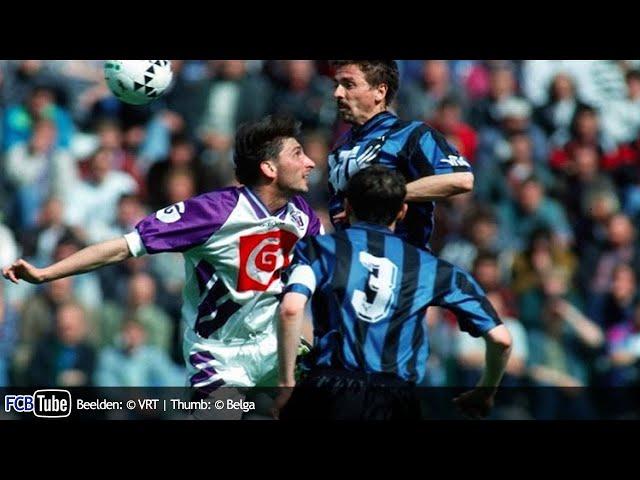 1993-1994 - Jupiler Pro League - 09. RSC Anderlecht - Club Brugge 0-3