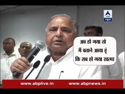 Shaam 7 Baje: Everything is sorted now, says Mulayam Singh Yadav