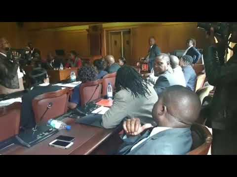 1/3 Sir Wicknell Chivayo Grilled by Parliament 12 February 2018