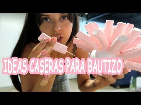 IDEAS CASERAS  + DECORACIÓN PARA UN BAUTIZO INCREÍBLE!!!