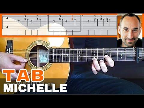 Michelle - Guitar Tab