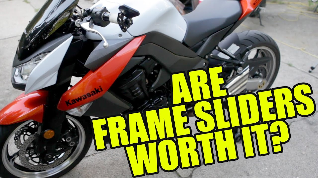 are frame sliders worth it - Motorcycle Frame Sliders