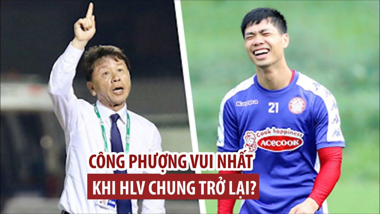 Công Phượng vui nhất khi HLV Chung trở lại CLB TP.HCM?