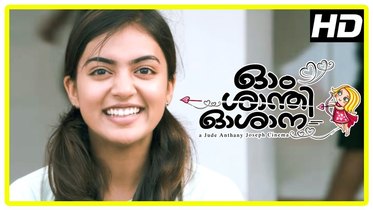 Download Ohm Shanthi Oshaana Movie Scenes | Nivin intro | Nazriya falls for Nivin Pauly | Aju Varghese
