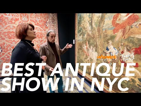 Best Antique Market in NYC: Park Avenue Armory's Winter Show