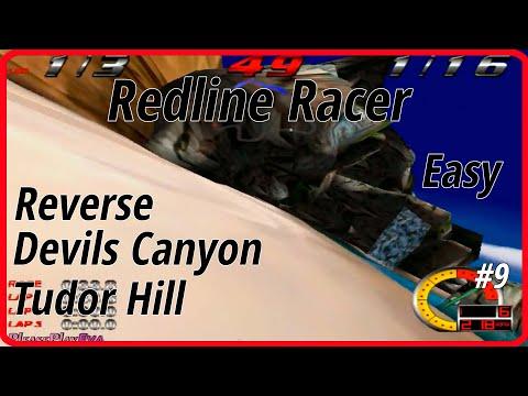Redline Racer (1998) ✓ Reverse Walkthrough #9 ✓ Easy Gold ✓ Devils Canyon, Tudor Hill