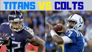Tennessee Titans at Indianapolis Colts PRE-GAME