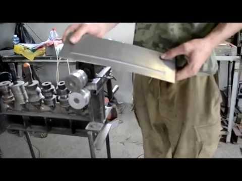 Работа с листовым металлом,обзор оборудования