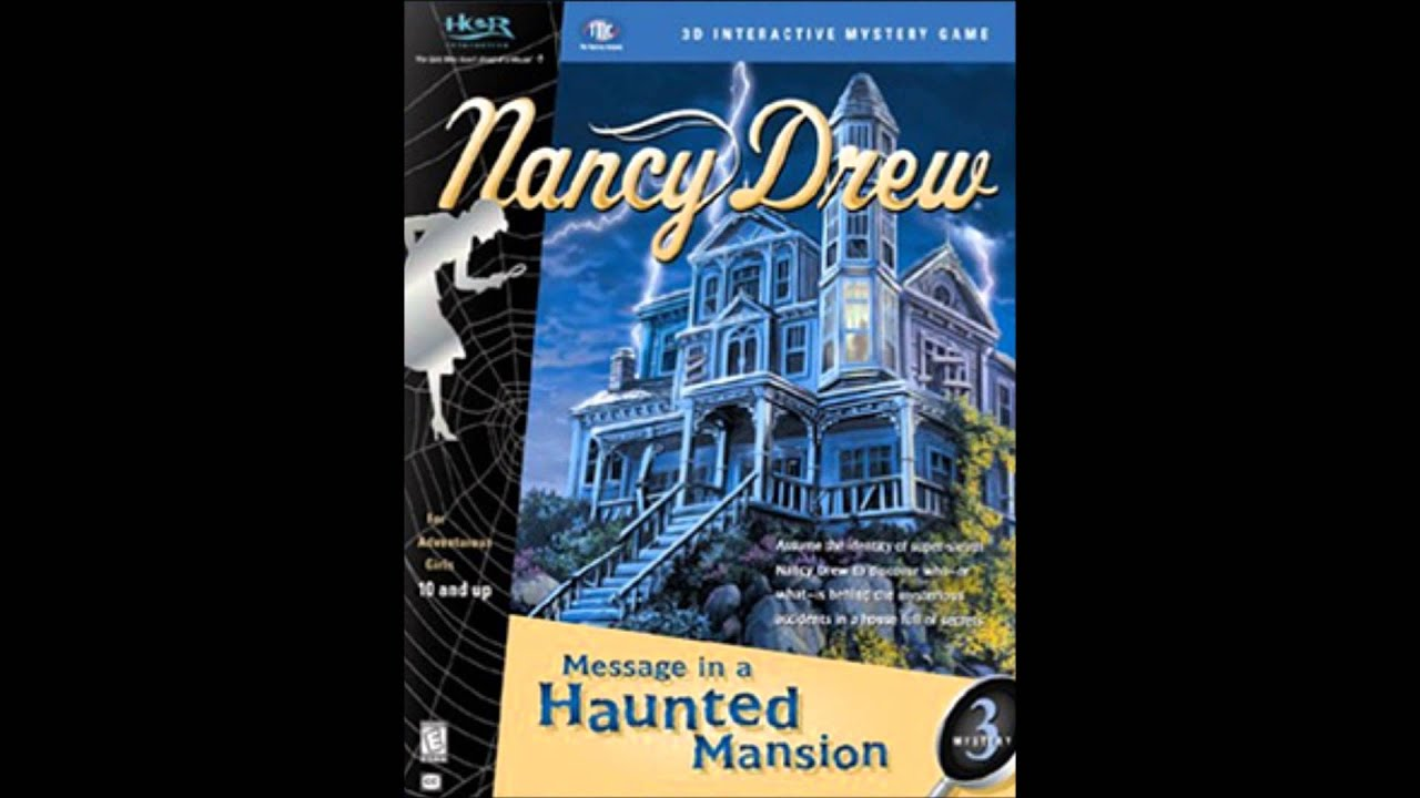 Nancy Drew Message in a Haunted Mansion Walkthrough