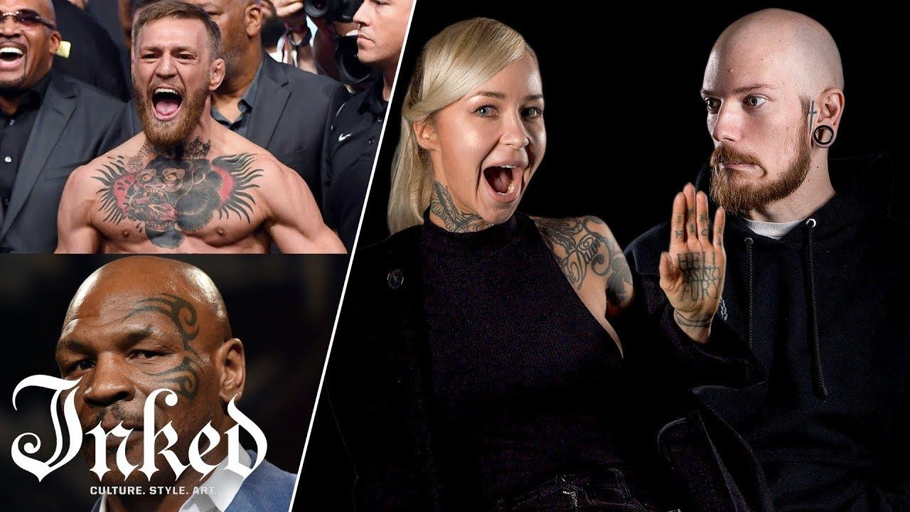 Tattoo Artists React To Athlete Tattoos | Tattoo Artists Answer