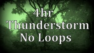 Repeat youtube video 4hr Thunderstorm with No Loops