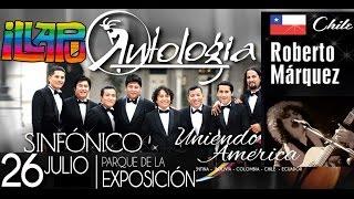 Roberto Márquez de Illapu y Antologia Sinfónico - Como olvidarme de tí