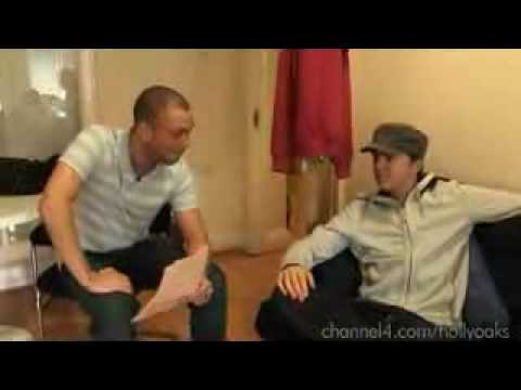 Hollyoaks Backstage Kent Riley part 1