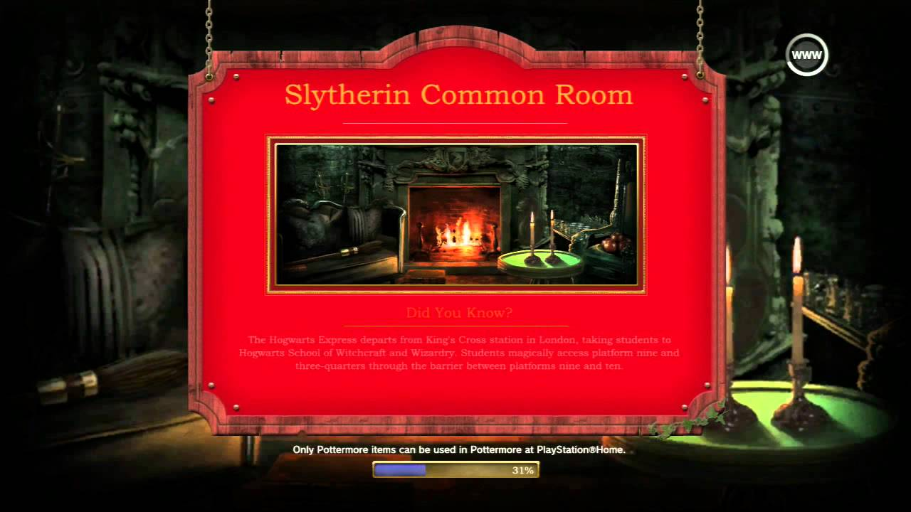pottermore images slytherins common - photo #16