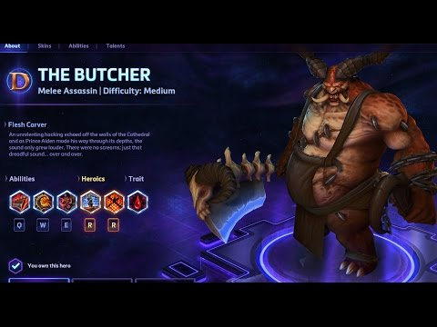 Heroes of the Storm - Butcher Guide