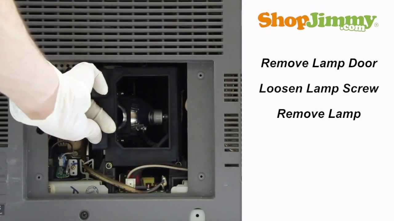 SAMSUNG HLR BP96 01073A Lamp Replacement Guide For DLP TV Repair   YouTube