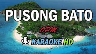 Pusong Bato - Karaoke HD - OPM