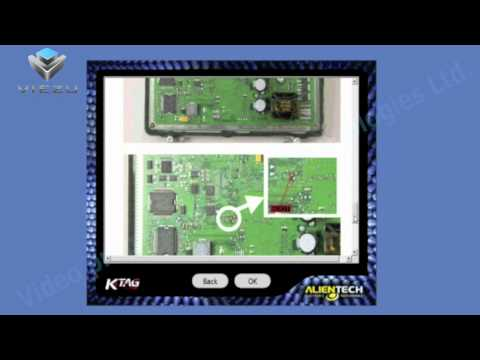 Viezu Academy - How to tune Tricore ECU's with K-tag Alientech tuning system