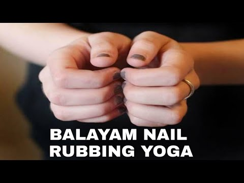 Regrow hairs naturally with this Balayam Nail rubbing Yoga within 6 months ft.baba ramdev Hindi