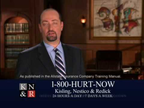 KNR 1-800-Hurt-Now Video 1