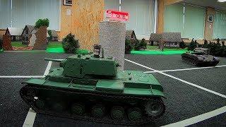 """Танковый Бой на Радиоуправлении """"Захват Базы"""""""