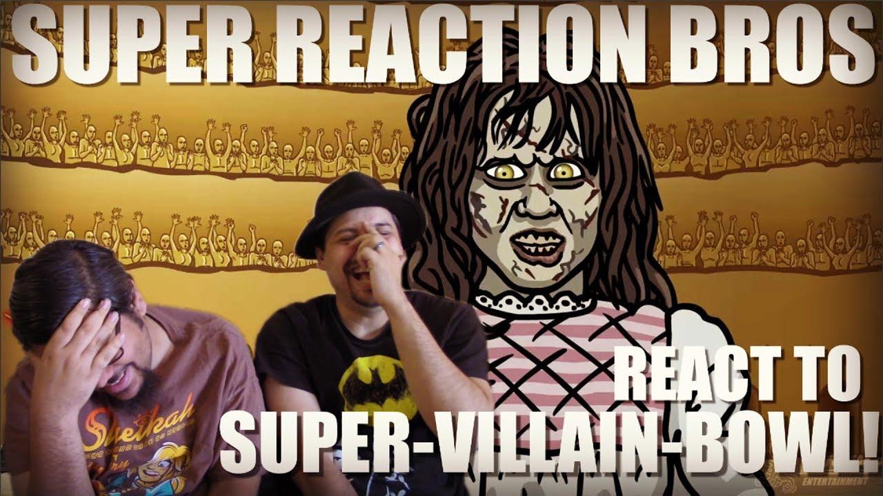 Download SRB Reacts to SUPER-VILLAIN-BOWL! - TOON SANDWICH