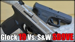 S&W SD9VE Vs. Glock 19: Which is the Best?