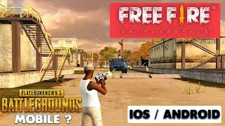 FREE FIRE : BATTLE ROYALE GAMEPLAY - iOS / ANDROID
