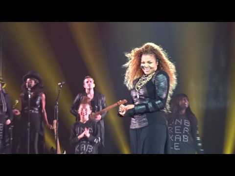 Janet Jackson UNBREAKABLE Live - End of Show- Orlando, Florida