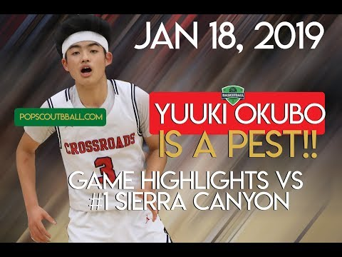 Yuuki Okubo IS A PEST!  #1 SIERRA Canyon Found out the HARD WAY!