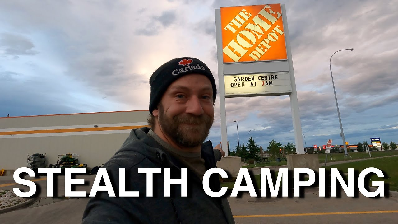 Stealth Camping Behind Home Depot