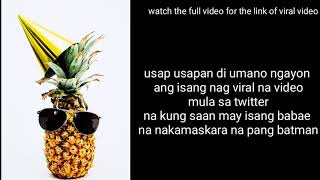 Pineapple girl viral video   watch before deleted   viral in twitter and facebook