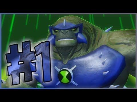 Прохождение Ben 10 Ultimate Alien: Cosmic Destruction - На Русском - Часть 1