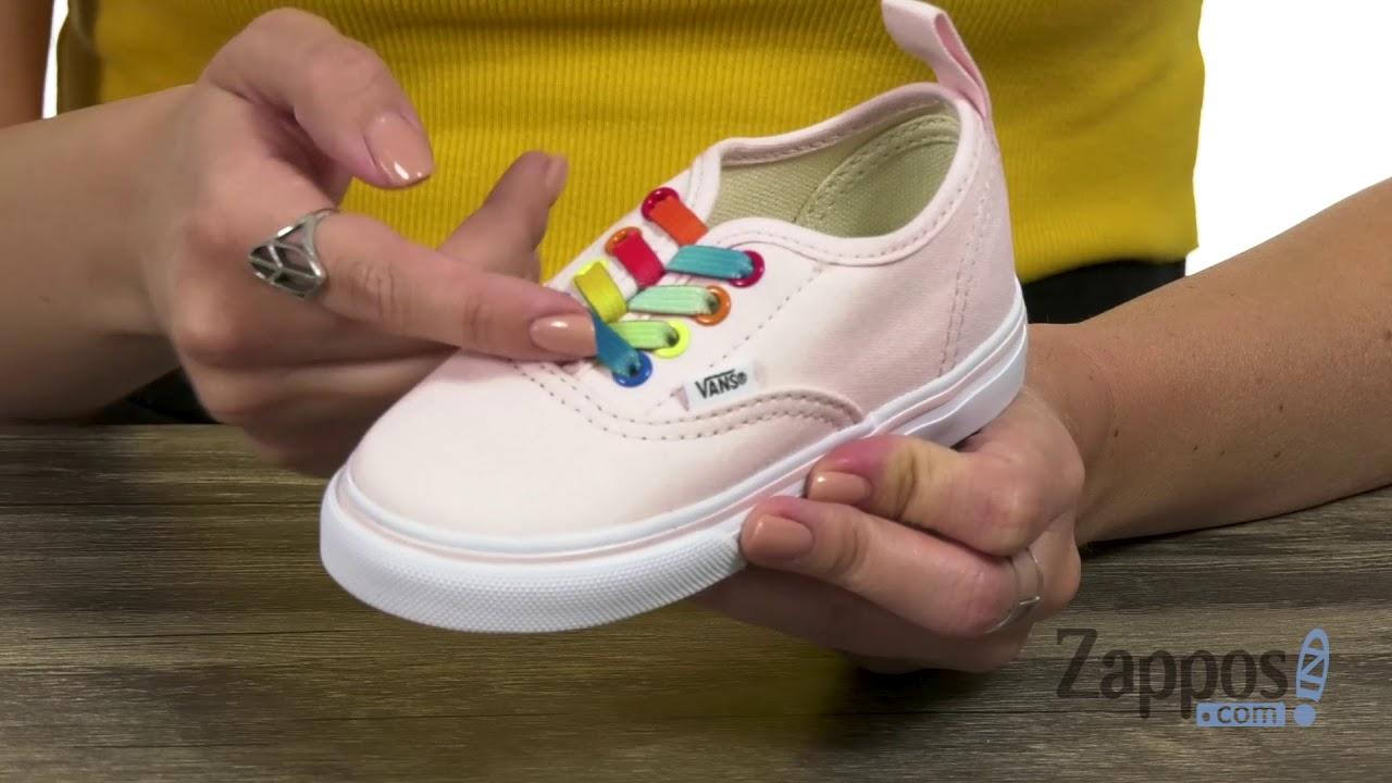 Vans Kids Authentic Elastic Lace (InfantToddler) SKU: 9074859