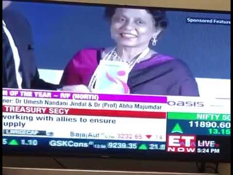 National Fertility Awards Icon of The Year   IVF North India Winner Dr Prof Abha Majumdar