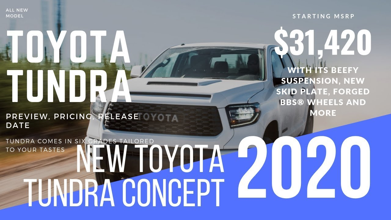 2019 2020 Toyota Tundra Diesel Release Date Price Specs Interior