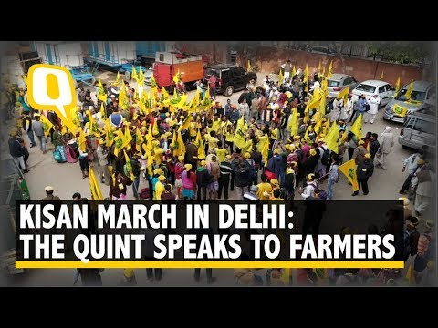 Kisan March: Two-Day Protest Rally by Farmers Begins in Delhi | The Quint