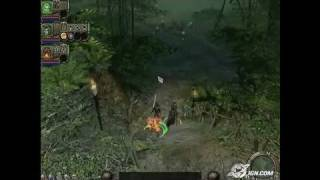 Dungeon Siege II PC Games Gameplay - Video Tour Pt. 1