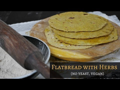 Easy Flatbread Without Yeast | Healthy Recipe (Vegan)