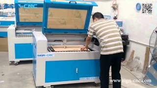SIGN-CNC CO2 laser engraving and cutting machine for acrylic and wood