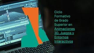 Animaciones 3D, Juegos y Entornos Interactivos - Ciclo Formativo de Grado Superior