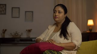 An unhappy woman sitting alone feeling annoyed - Sad and emotional