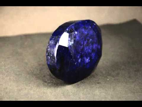 Large Indian Mines Blue Sapphire