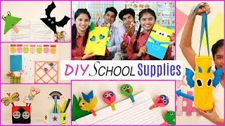 DIY SCHOOL SUPPLIES | DIYQueen