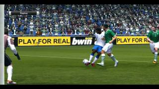 PES 2011 - ENG v. IRE - Euro 2012 Final (PC gameplay)