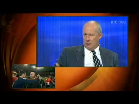RTE World Cup 2010 - Spain vs Netherlands(Final) post match analysis - Part 1