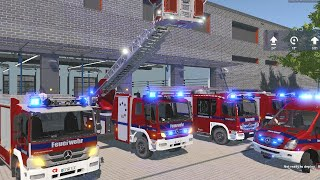 Download Emergency Call 112 - Augsburg Ladder Truck Responding! 4K