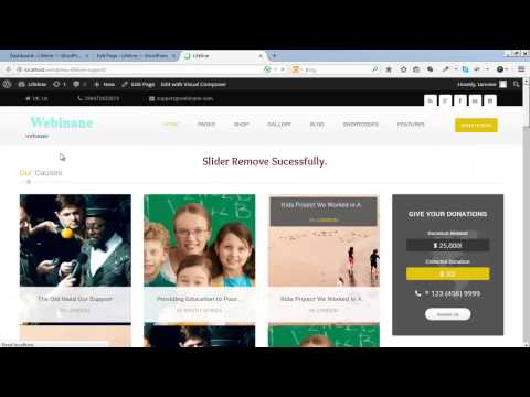 How to Add or Remove Revolution Slider in Lifeline WP Theme